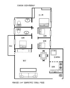 (桂平)郁江明珠4室2厅2卫126m²精装修