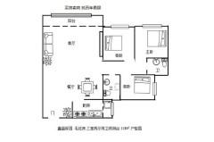(桂平)鑫盛嘉园 3室2厅2卫118m²毛坯房