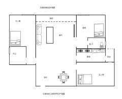 (桂平)红锋华府3室2厅2卫129m²毛坯房