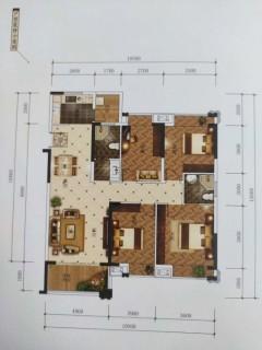 金府大院3室2厅毛坯房180㎡为到4500元/㎡抵手房